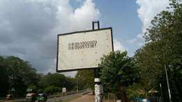 For Billboard advert placement, just call us. We cover every where !!