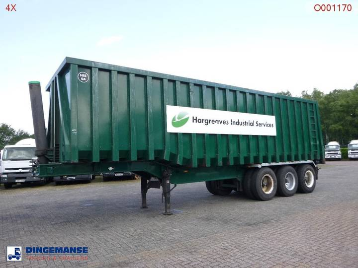 Titan Tipper trailer inox 70 m3 / 68 tonnes - 2013