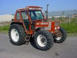 Fiat AGRI 100/90 4WD Tractor 1988 HP 100