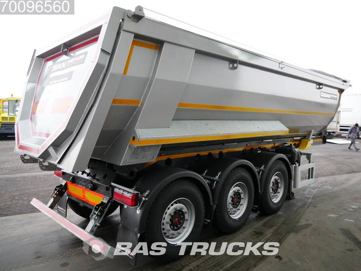 Ozsan 24m3 Stahlkipper 2x SAF Liftachse WABCO - 2019 - image 3