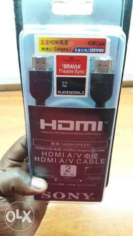 Original HDMI CAbles for Ps3,Ps4,Ps4 Pro Nairobi CBD - image 3