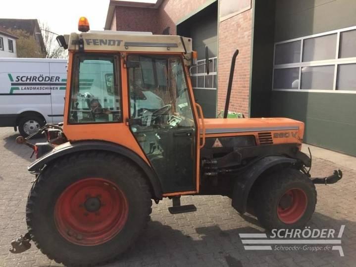 Fendt farmer 280 va eng kommunal - 2000 - image 2