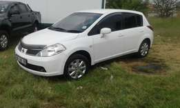 Nissan tiida dropped to go(urgent sale) R65000 cash buyers only