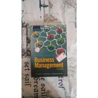 Introduction to Business Mangement, 9th Edition.