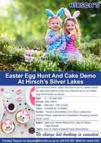 Easter Egg Hunt And Cake Demo At Hirsch's Silver Lakes