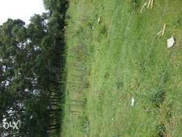 One arce plot on sale touching uganda road near shell petrol station