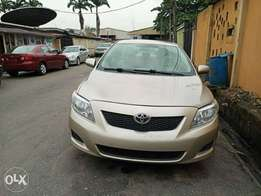 2009 toks corolla 2.8m only