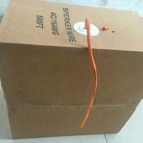 Speaker cable Abule Egba - image 7