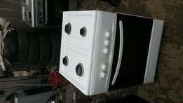 4 unit gas cooker oven with grill.