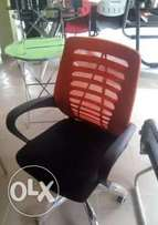 Stylish ventilated office chair