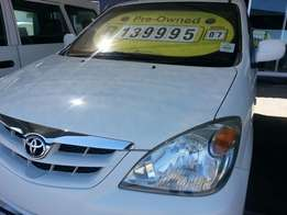 1.5i toyota avanza (7 seater ) in very good condition!!