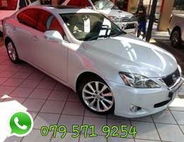 Lexus IS 250 2.5 V6 Auto R159 900