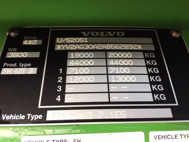 Volvo FH500 XL 800.000 km ! AB Chassisnummer 2010 - 2010 - image 10