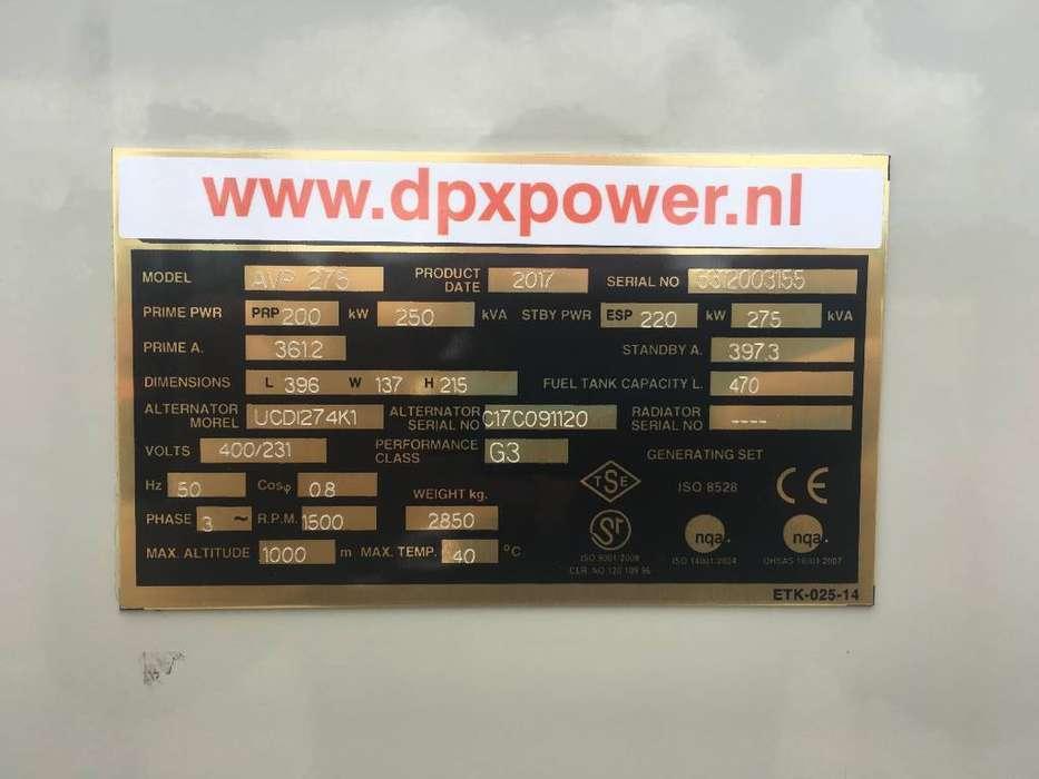 Volvo TAD734GE - 275 kVA Generator - DPX-17705 - 2019 - image 4