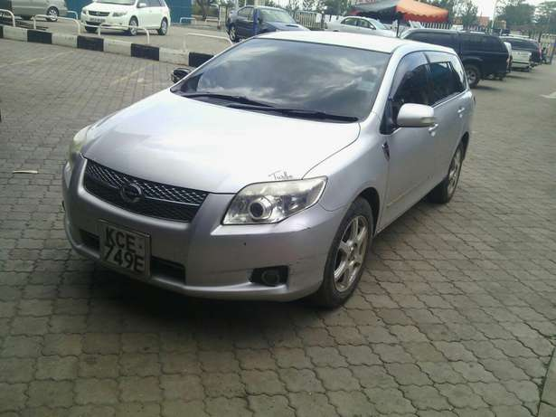 For quick sale Toyota fielder in excellent condition Nakuru East - image 4