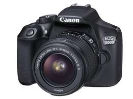 canon camera 1300d lens 18-55mm