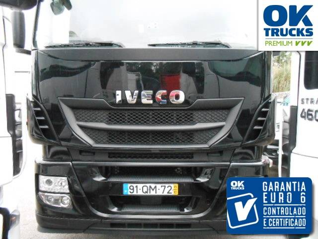 Iveco Stralis AS440S46TP Euro6 Intarder Klima Navi Luftfeder ZV Standhzg - 2015