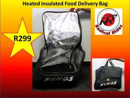 Heated Insulated Delivery Bags
