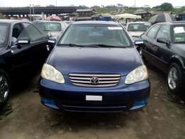 Toyota corolla up for grabs