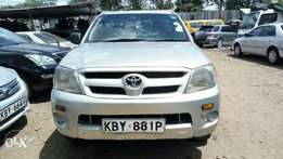Toyota Hilux KBY registration grey in colour.. Single cab 2wd