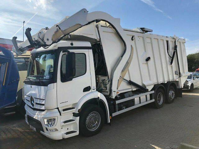 Mercedes-Benz ANTOS 2533 6x2 Müllwagen FAUN FRONTPRESS 533 - 2014