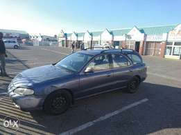 driving 1997 1.8litre elantra with TLC
