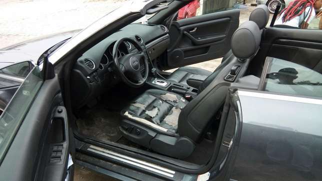 Smooth Driving Registered 2004 Audi A4 1.8T Convertible In Good Condit Lekki - image 5