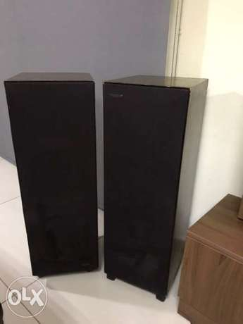 2 speakers ESS made in USA