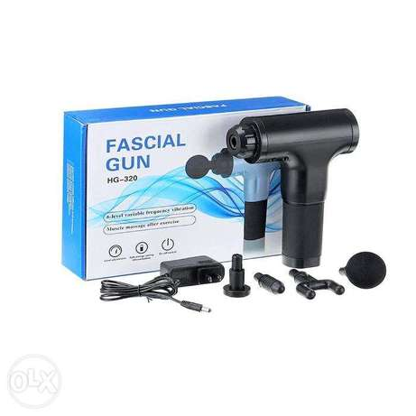 Rechargeable Massaging Gun 4-Nozzle Muscle, Pain & Joint Reliever