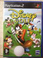 PS 2 Disney Golf
