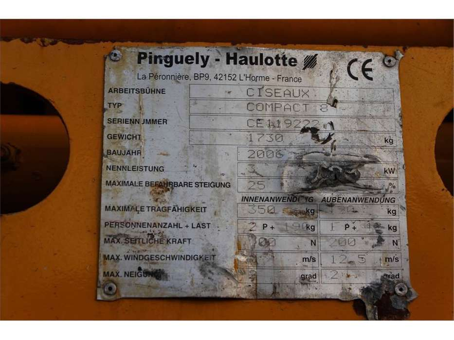 Haulotte COMPACT 8 - 2006 - image 6