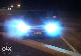 High Intensity Discharge headlights.HID