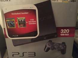PS3 with two controllers and 16 games - available in Mombasa