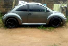 Volkswagen New Beetle (Bug) for giveaway