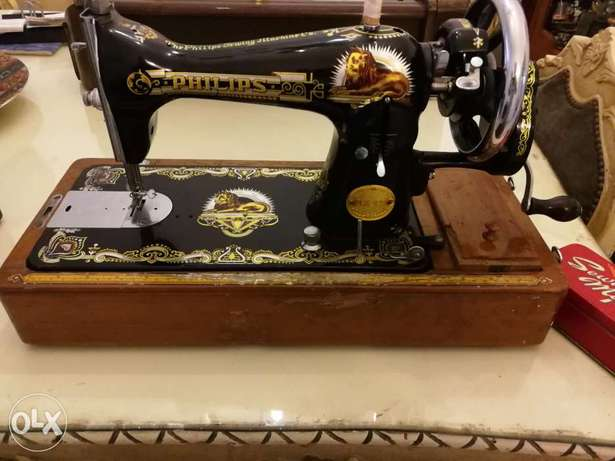 Antique Philips sewing machine