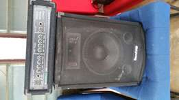 Amp and soundlab speaker