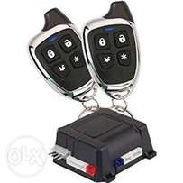 Car Alarm and Keyless Entry Security System with Two 4-Button Transmit