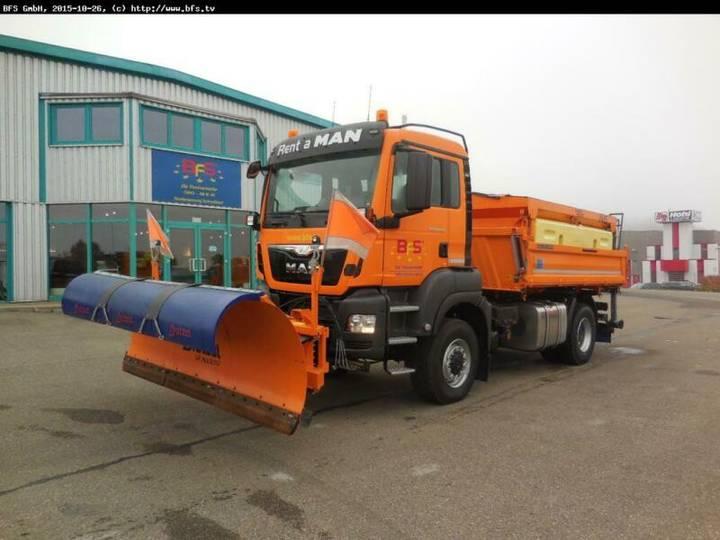 MAN TGS 18.480 4x4 BL Winterdienst, MEILLER Typ D316 - 2015