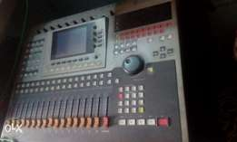 Yamaha AW4416 Digital (with recall) Mixer In Good Working Condition