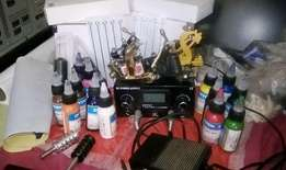 Tattoo equipment for sale 4 machines ink needles to much to mention