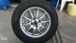 Brand new Tyres and EX Japan rims for Toyota. Size 14