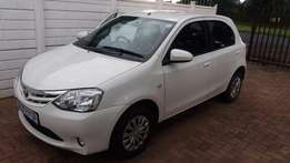 Toyota Etios Lady driven