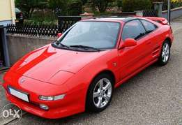 Toyota MR2 windscreens