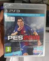 PES 2018 Ps3 Game Limited Copies