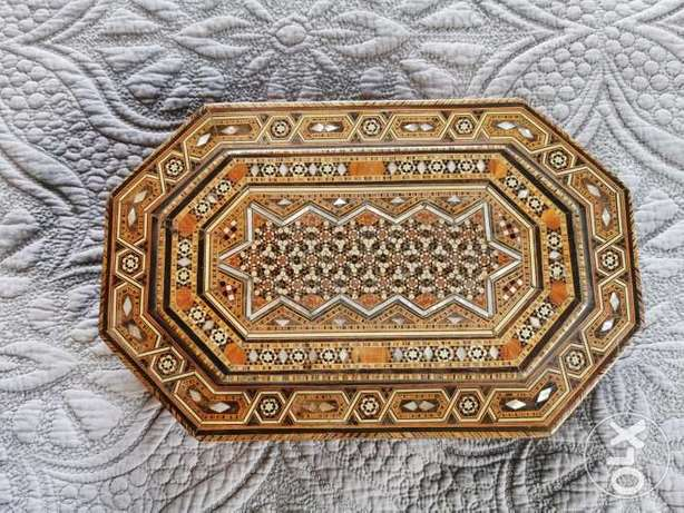 Vintage marquetry box 1920s