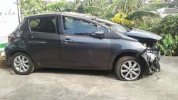 2014 Toyota Yaris 1.3CVT 4DR A/T Stripping for spares