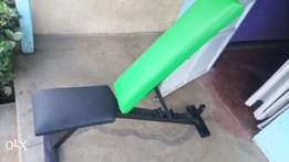 Gym bench- adjustable