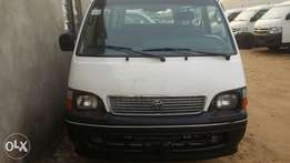 Clean Registered Toyota Hiace Bus