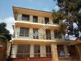 self contained siting and bedroomed apartment in bukoto town at 350k