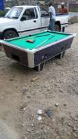 Wide joiners slate top pool table